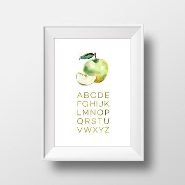 abc apple_White_Mockup