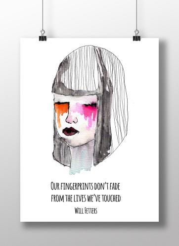 our fingerprints