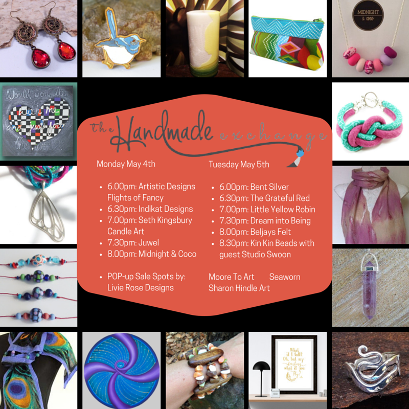 check out www.handmadeexchange.com