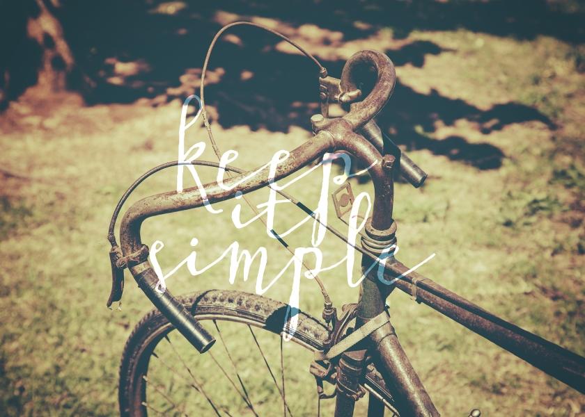 Keep it simple 5x7