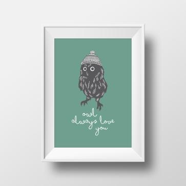 Owl always love you_Mockup