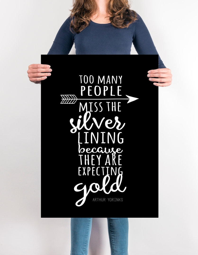 Silver not gold
