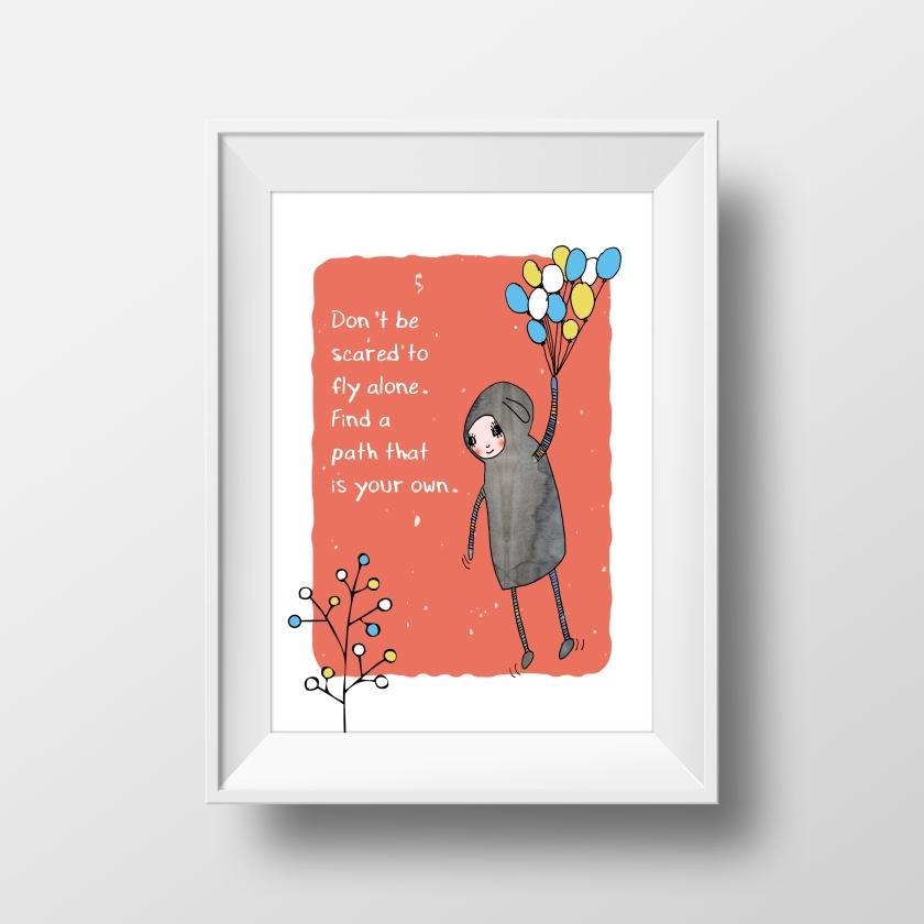 Flying Balloons_Mockup